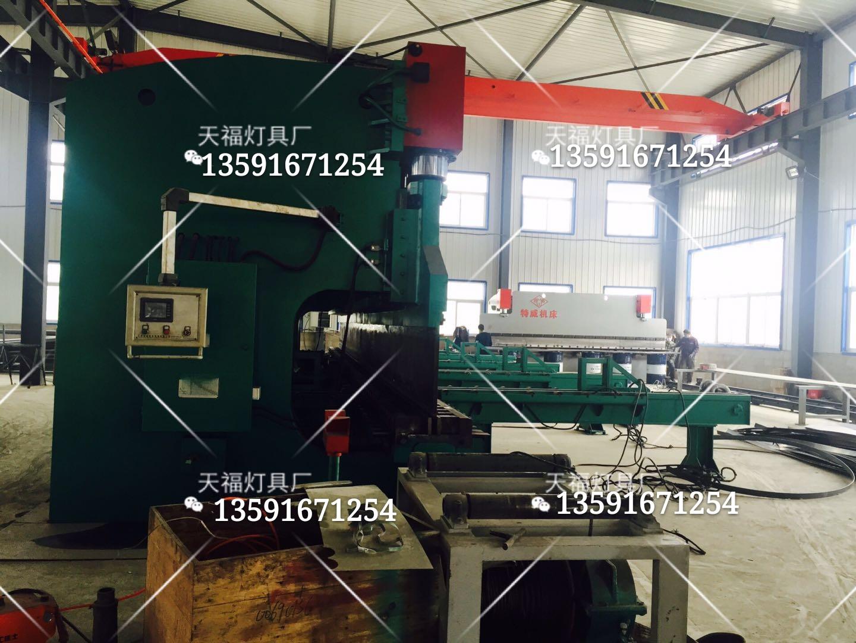 厂房设备展示-制造高杆灯设备